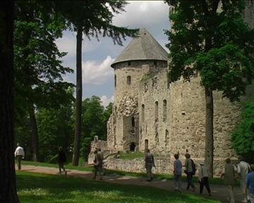 Ruine der alten Ordensburg