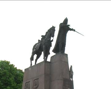 Denkmal für Großfürst Gediminas