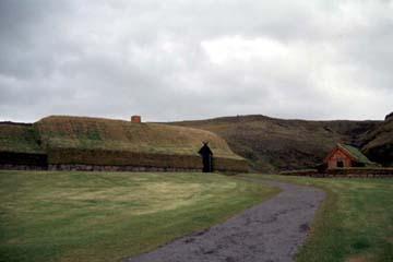 Rekonstruierter Bauernhof Þjóðveldisbær