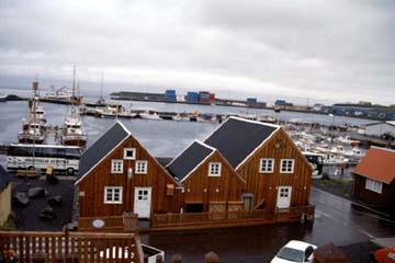 Húsavík,  Ausgangspunkt vieler Walbeobachtungsfahrten