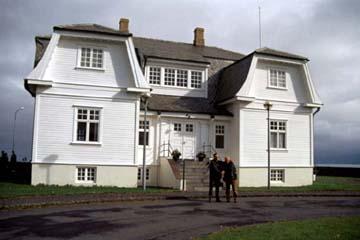Höfði,  das Gästehaus der Stadt Reykjavík