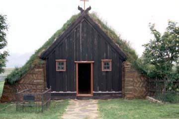 Torfkirche von Víðimýri