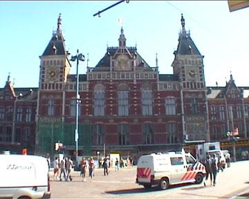Bahnhof von Amsterdam