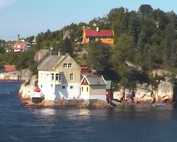 norwegische Küste