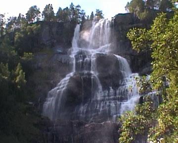 Tvinde-Wasserfälle